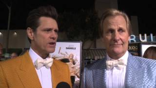 Dumb and Dumber To: Jim Carrey & Jeff Daniels Red Carpet Movie Interview