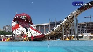 Най-новата атракция в AQUALAND - KING COBRA(ВИДЕО - Авел Бялков)