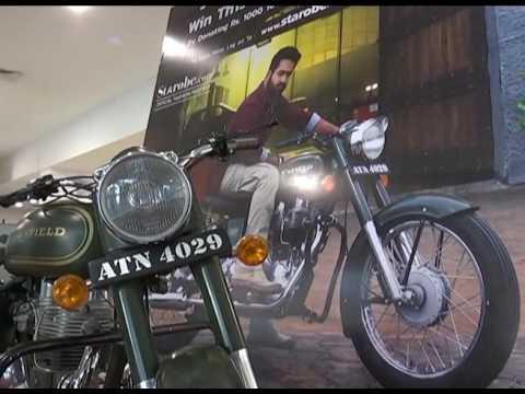Ntr--039-s-Janatha-Garage-Bike-Charity-Action-Stall-at-Prasad-Imax