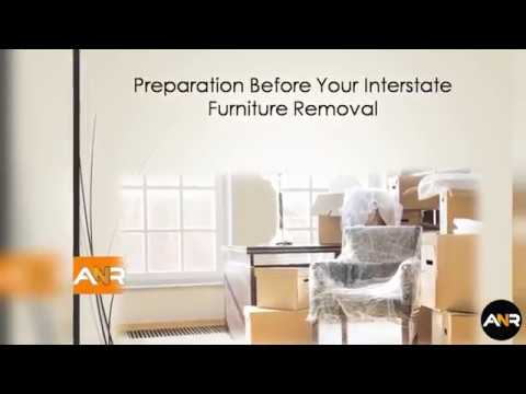 Preparation Before Your Interstate Furniture Removal