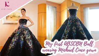 My first ABS-CBN Ball wearing Michael Cinco gown   Kim Chiu PH