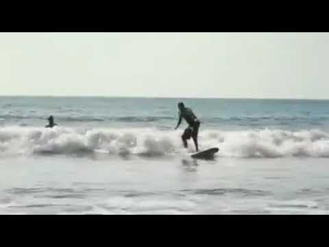 A great day to surf in jaco, costa rica
