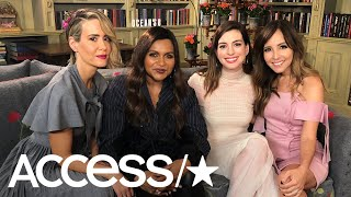 'Ocean's 8': Sarah Paulson, Mindy Kaling & Anne Hathaway Dish On Which Co-Star They'd Rob | Access