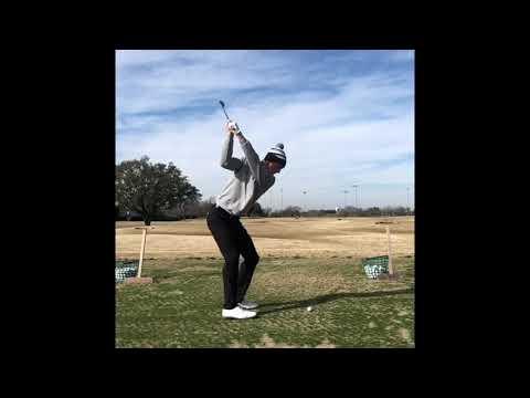 Will Zalatoris slow motion golf swing. Iron #impact #golf #golfswing #subforgolf #alloverthegolf