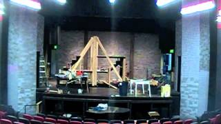 Les Mis Set Construction Time Lapse