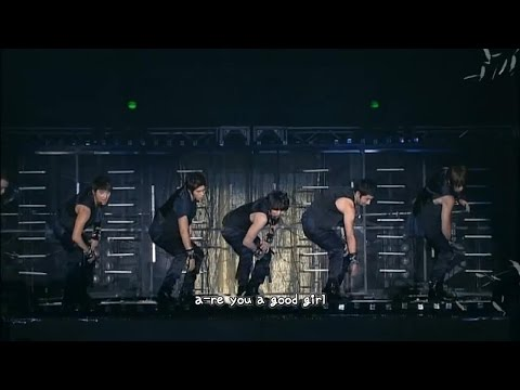 DBSK 동방신기 - Are You A Good Girl 악녀 3rd Asia Tour [eng + rom + hangul + karaoke sub]