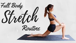 10 min Full Body STRETCH & COOL DOWN Routine | Entire Body Flexibility Exercises & Relaxation