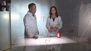 The science of blood spatter