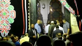 اللواء طارق مهدى محافظ الاسكندرية يقوم بالتعازى فى شهيد الشرطة بالاسكندرية النقيب احمد سعد