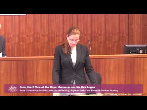 Banking Royal Commission - Day 1