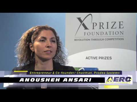 Aero-TV: Anousheh Ansari - The Woman Behind the Prize - YouTube