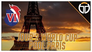 ►VLOG WORLD CUP POOL FRANCE JOUR 2!!!◄ OVERWATCH FR
