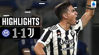 Inter 1-1 Juventus | Dybala Grabs Late Equaliser! | Serie A Highlights