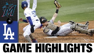 Marlins vs. Dodgers Game Highlights (5/16/21)   MLB Highlights