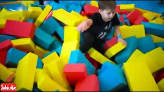 Fun Indoor Trampoline Park Family Fun Play Area For Kids