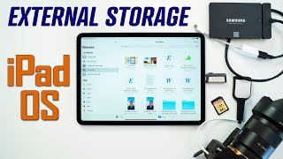 How to use External Storage with New iPadOS 13