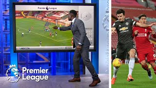 Liverpool front three struggle v. Manchester United | Premier League Tactics Session | NBC Sports