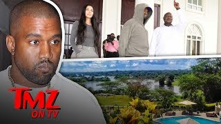 Kim & Kanye's Adventures In Africa | TMZ TV