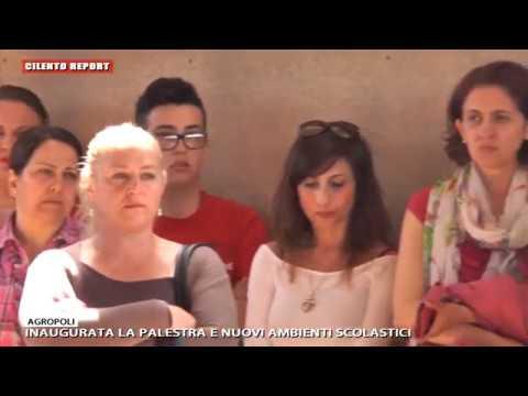 CILENTO REPORT AGROPOLI INAUGURATA LA PALESTRA E NUOVI AMBIENTI SCOLASTICI