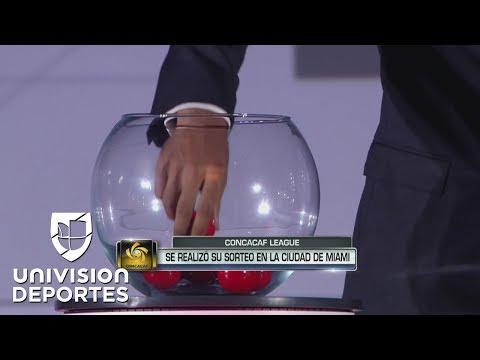 Sorteo CONCACAF Champions League
