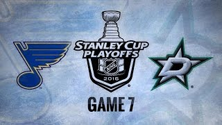 Blues cruise to 6-1 win in Game 7 to advance to WCF