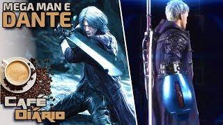DEVIL MAY CRY 5: Braço do Mega Man, Gameplay do Dante e muito mais!