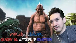 WAIT!! IS THAT......GUS??? | Reaction to.....Red vs Blue Season 16, Episode 7 - It Just Winked at Me