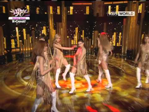 [Music Bank K-Chart] AfterSchool - Flashback (2012.06.22)