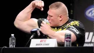 Brock Lesnar UFC 141 Press Conference