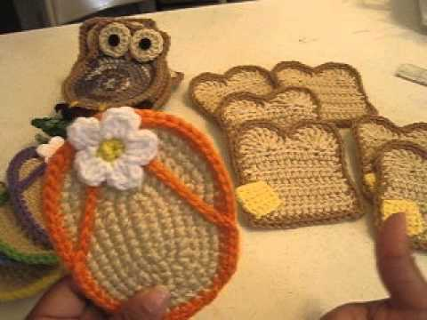 Forros De Bano A Crochet Videomoviles Com