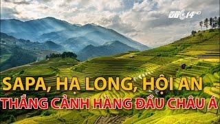 (VTC14)_Việt Nam có 3 thắng cảnh đẹp hàng đầu châu Á