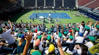 ATP Stars Join In On J.P. Morgan Kids's Day In Dubai