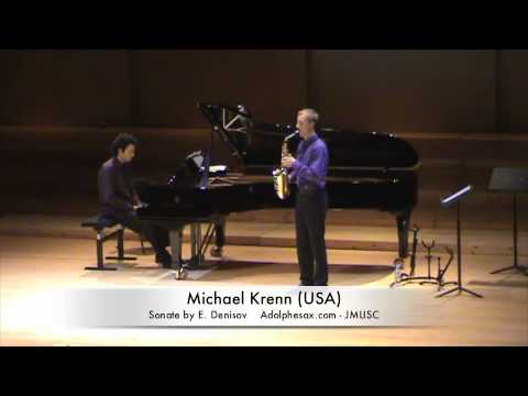 3rd JMLISC Michael Krenn (USA) Sonate by E. Denisov