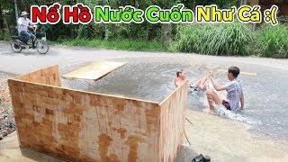 Lamtv - Thử Làm Hồ Bơi Bằng Gỗ và Cái Kết | How to make a Wooden Pool