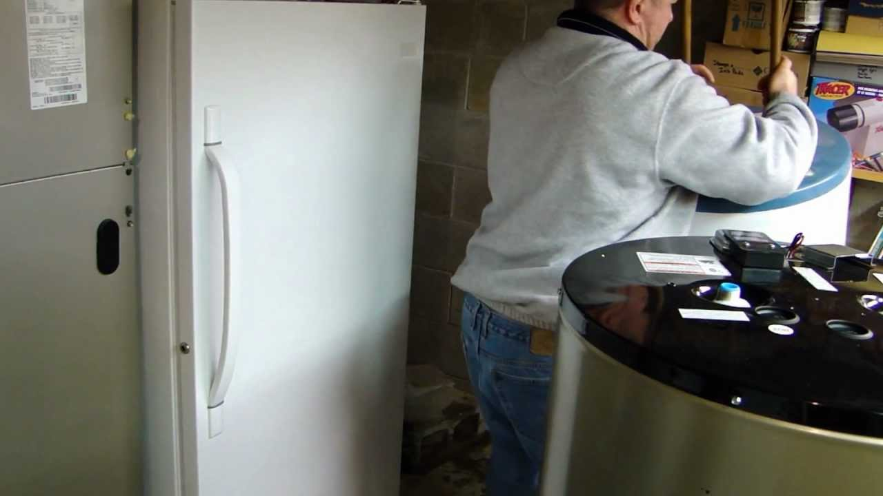 Installing A New Electric Water Heater Part 1 Removing
