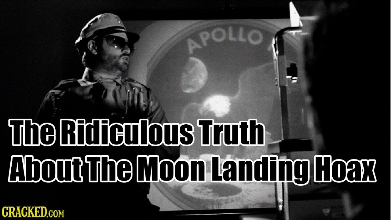 The Ridiculous Truth About The Moon Landing Hoax - YouTube