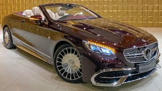 1 OF 300 Mercedes Benz S650 V12 MAYBACH CABRIOLET! +SOUNDCHECK