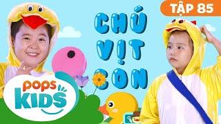 Mầm Chồi Lá Tập 85 - Chú Vịt Con | Nhạc thiếu nhi remix sôi động | Vietnamese Songs For Kids