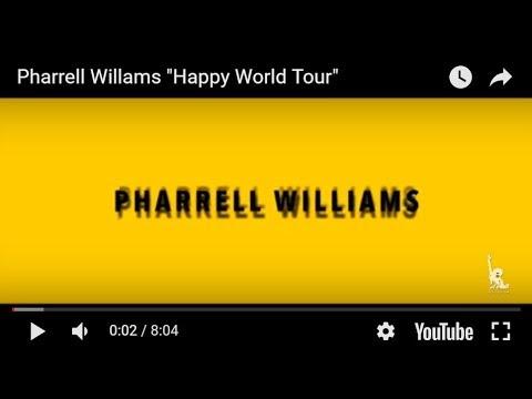 "Pharrell Willams ""Happy World Tour"""