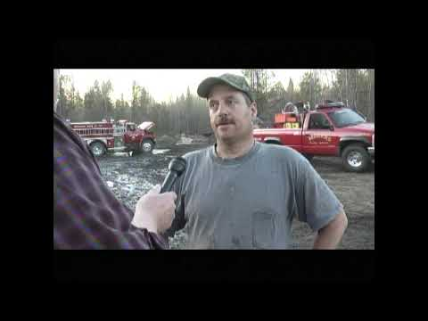 Fire on Castine Road 5-5-13