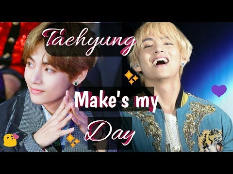TAEHYUNG MOMENTS THAT MAKES MY DAY 💜