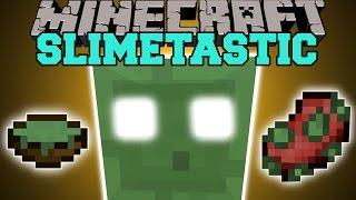 Minecraft: SLIMETASTIC (GODSLIMA & MACHINE THAT KILLS EVERYTHING!) Mod Showcase