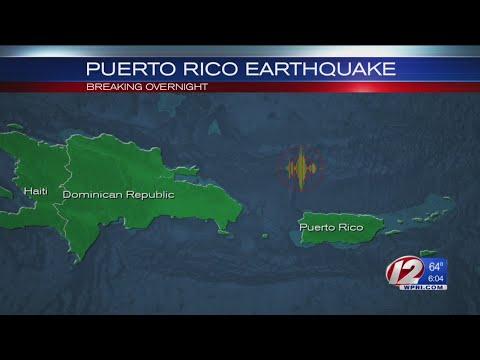 6.0 quake shakes Puerto Rico; no damage immediately reported