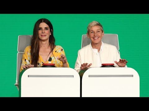 Sandra Bullock Answers Ellen's Burning Questions