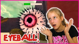Destroying Mega Eyeball! I'm Coming For You!
