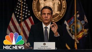 Live: New York Gov. Andrew Cuomo Holds Coronavirus Briefing | NBC News