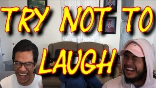 Try not to laugh (Water in your mouth)