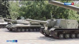 В Омске обсудили концепцию парка военной техники под открытым небом