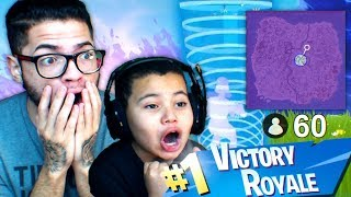 MY LITTLE BROTHER PLAYS COMPETITIVE SCRIMS FOR THE FIRST TIME EVER!!! YOU WONT BELIEVE IT! FORTNITE