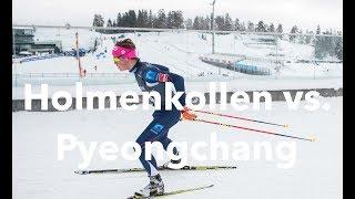 Holmenkollen vs. Pyeongchang   Vlog 7² x Ola Vlog 3